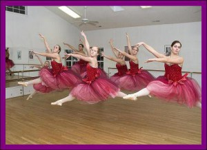 Dancers at Swansboro Dance Studio
