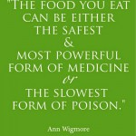 is your food medicine orf poison?